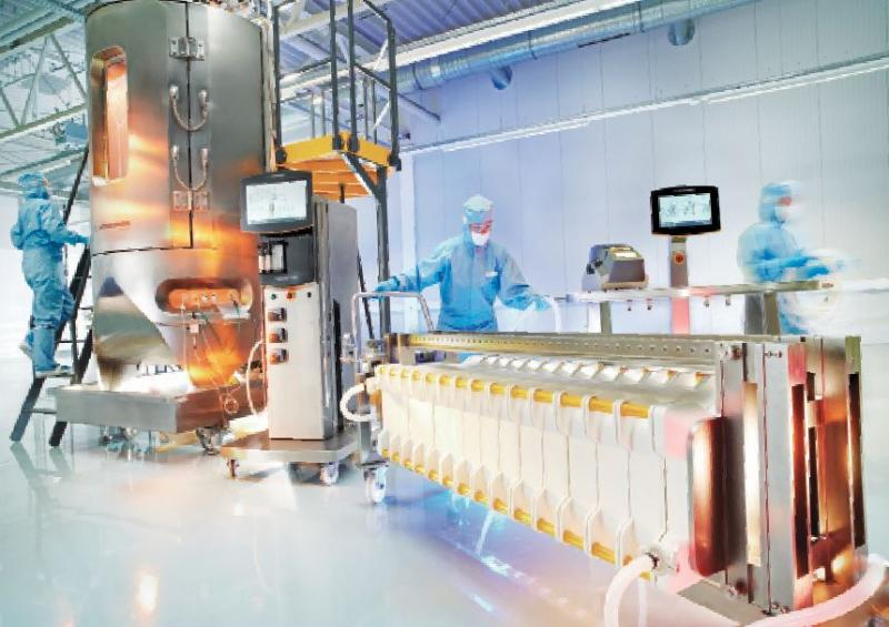 Biopharmaceutical processing-equipment and consumables